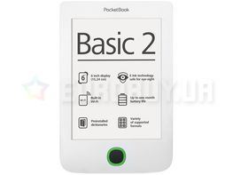 Электронная книга Pocketbook Basic 2 (614) белый