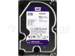 "Жесткий диск Western Digital Purple 3TB  5400rpm 64MB WD30PURZ 3.5""  SATA III"