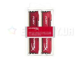 Оперативная память Kingston HyperX FURY Red 8GB (2x4GB) DDR3 1600 MHz (HX316C10FRK2/8)
