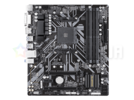 Материнская плата Gigabyte B450M DS3H (AM4, AMD B450, microATX)