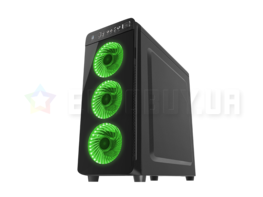 Корпус GENESIS IRID 300 (NPC-1133) Led GREEN