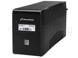 ИБП POWER WALKER UPS LINE-INTERACTIVE 850VA 2X 230V PL OUT, RJ11 IN/OUT, USB, LCD