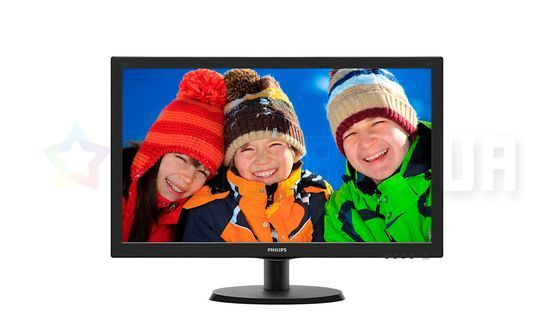 "Монитор LED 21.5"" Philips 223V5LHSB/00 Black"