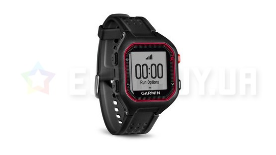 Спортивные часы Garmin Forerunner 25 Black/Red Large (010-01353-10)