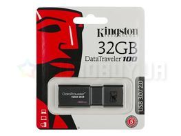 USB 3.0 флеш накопитель Kingston 32 GB DataTraveler 100 G3 DT100G3/32GB
