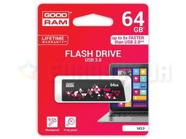 Goodram Cl!ck 64GB USB 3.0 (UCL3-0640K0R11) Black