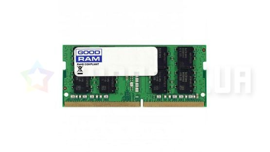 Оперативная память GOODRAM 8GB DD4 SO-DIMM 2400 MHz (GR2400S464L17S/8G)