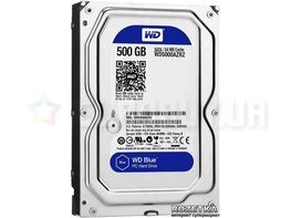 "Жесткий диск Western Digital Blue 500GB 5400rpm 64МB WD5000AZRZ 3.5""  SATA III"