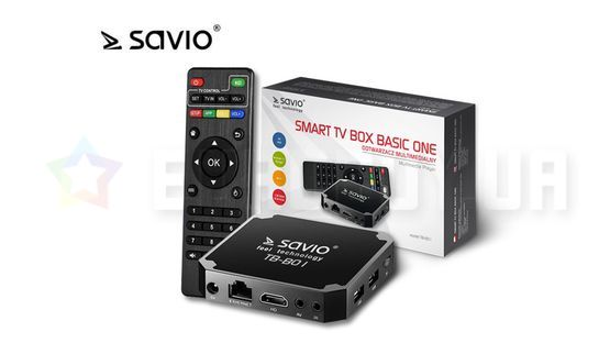 SAVIO TB-B01 Smart TV Box Basic