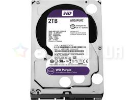 "Жесткий диск Western Digital Purple 2TB 5400rpm 64MB WD20PURZ 3.5""  SATA III"