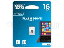 Goodram Piccolo 16GB USB 2.0 (UPI2-0160W0R11) White