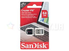 SanDisk Cruzer Fit 64GB USB 2.0 (SDCZ33-064G-B35) Black