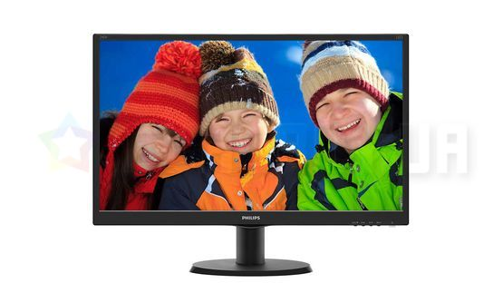 "Монитор LED 23.8"" Philips 240V5QDAB/00 Black"