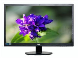 "Монитор LED 23.6"" AOC E2470SWHE Black"