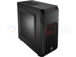 Корпус Corsair Carbide SPEC-01 Red LED Black (CC-9011056-WW)