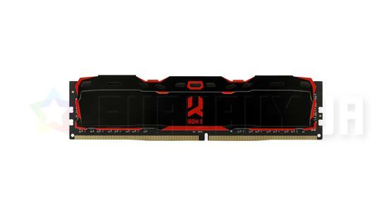 Оперативная память GOODRAM 8GB DDR4 3000 MHz Iridium X (IR-X3000D464L16S/8G) Black