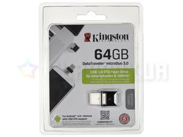 Флешка Kingston 64 GB DataTraveler microDuo 3.0 (DTDUO3/64GB)