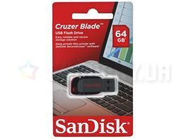 SanDisk Cruzer Blade 64GB USB 2.0 (SDCZ50-064G-B35) Black-Red