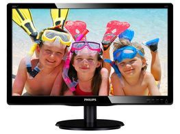"Монитор LED 19,5"" Philips 200V4LAB2/00 Black"