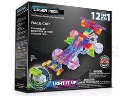 Конструктор LASER PEGS 12 IN 1 RACE CAR G870B