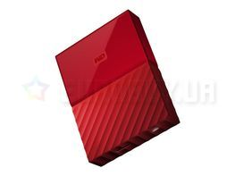 Жесткий диск 2.5 Western Digital My Passport 4TB (WDBYFT0040BRD-WESN) USB 3.0 External Red