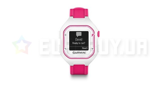 Спортивные часы Garmin Forerunner 25 White/Pink Small (010-01353-31)