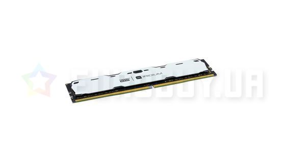 Оперативная память Goodram 4GB DDR4 2400 MHz Iridium White (IR-W2400D464L15S/4G)
