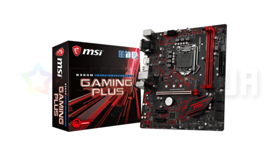 Материнская плата MSI B360M GAMING PLUS (LGA1151, Intel B360, microATX)