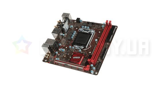 Материнская плата MSI B250i Gaming Pro AC (LGA1151, Intel B250, PCI-Ex16)