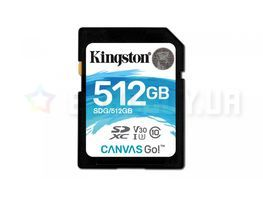 Kingston microSD Canvas Go 512GB Class U3 (SDG/512GB)