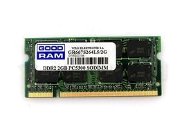 Оперативная память GOODRAM 2 GB SO-DIMM DDR2 667 MHz (GR667S264L5/2G)