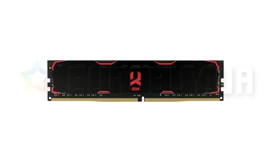 Оперативная память Goodram 4GB DDR4 2400 MHz Iridium Black (IR-2400D464L17S/4G)